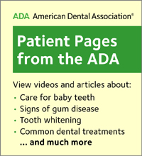ADA Patient pages
