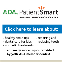 ADA dental patient education center
